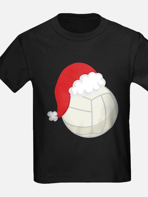 Volleyball Santa Gif T-Shirt