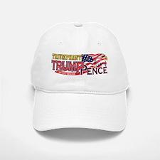 Triumphant Trump Pence Design Baseball Baseball Cap