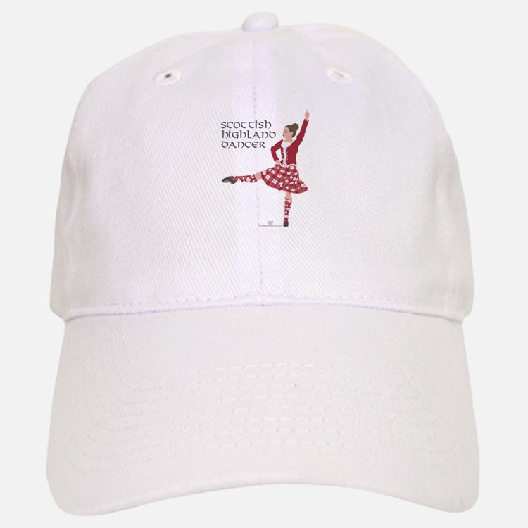Scottish Highland Dancer Baseball Baseball Cap