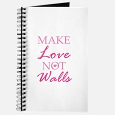 Make Love Not Walls Journal