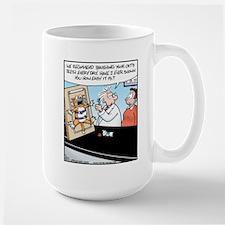 Easy Cat Teeth Brushing Large Mug
