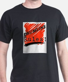 Drumline Rules Marching Band T-Shirt
