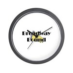 Broadway Bound Wall Clock
