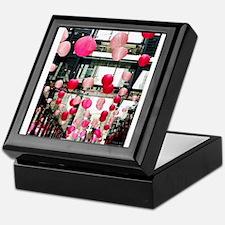 I??DC - Cherry blossom lanterns Keepsake Box