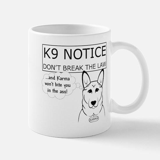K9 Karma Mugs