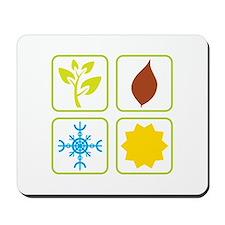Four Seasons Mousepad