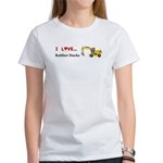 I Love Rubber Ducks Women's T-Shirt
