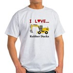 I Love Rubber Ducks Light T-Shirt