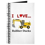 I Love Rubber Ducks Journal