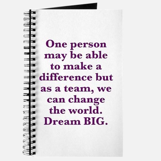 Team World Change Journal
