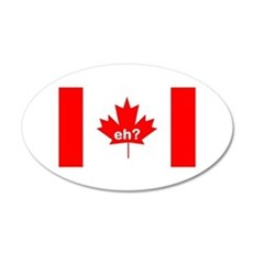 Eh? Canada Wall Decal