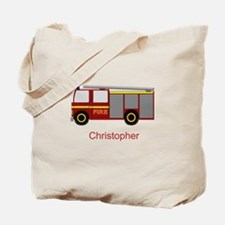 Personalized Fire Engine Design Tote Bag