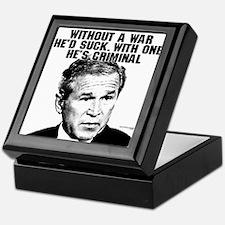 Bush and War Keepsake Box