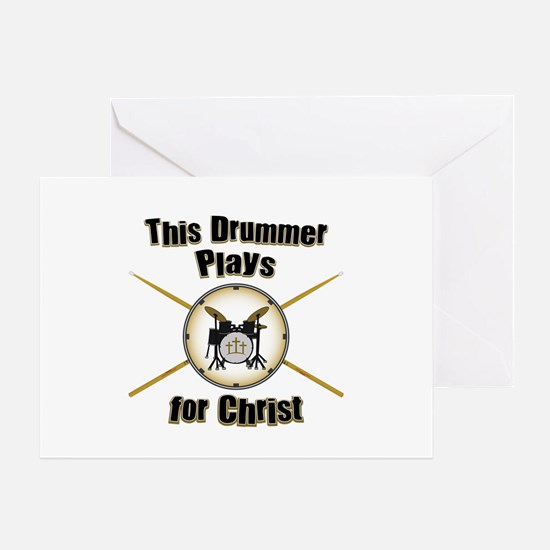 Drum For Christ Greeting Card