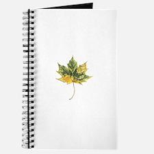 Autumn Maple Leaf Journal