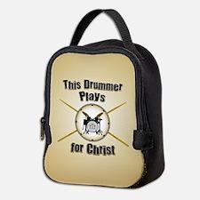 Drum For Christ Neoprene Lunch Bag