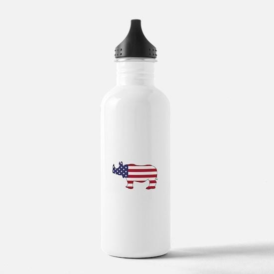 Rhinoceros - American Water Bottle