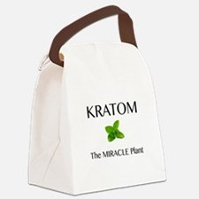 Kratom Miracle Canvas Lunch Bag