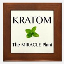 Kratom Miracle Framed Tile
