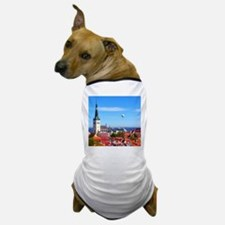 Flying Ball of the Sky Dog T-Shirt