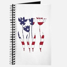 American Flag - Tulips Journal