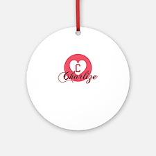 charlize Round Ornament
