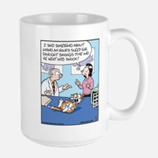 Daylight Savings Time Cat Mug