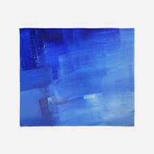 Cool Azul Throw Blanket