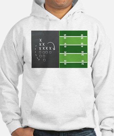 Football Game Day Play Hoodie