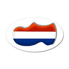 Dutch Clog Wall Decal