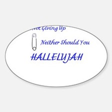 Hallelujah Decal