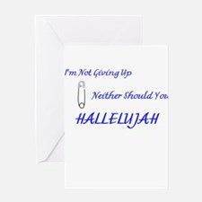Hallelujah Greeting Cards