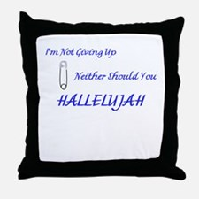 Hallelujah Throw Pillow