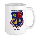 Air force 6987th security group Large Mugs (15 oz)