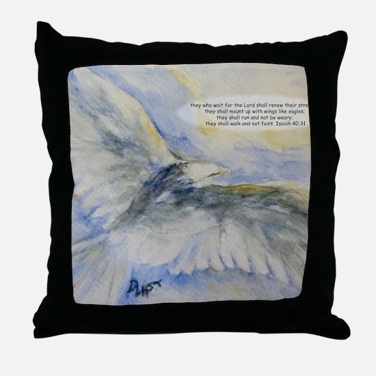 Cute Christian art Throw Pillow