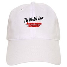 """The World's Best Asparagus Grower"" Baseball Cap"