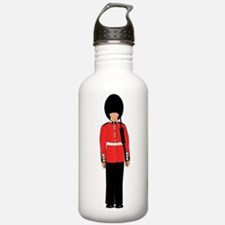 British Soldier On Gua Water Bottle