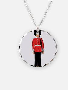 British Soldier On Guard Dut Necklace