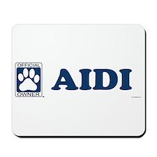 AIDI Mousepad