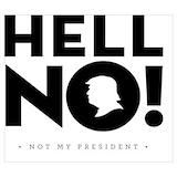 Anti trump Posters