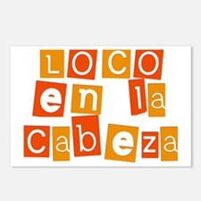 Loco en la Cabeza Postcards (Package of 8)