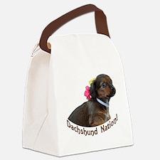 Dachshund Nation! Canvas Lunch Bag