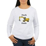 Duck Dude Women's Long Sleeve T-Shirt