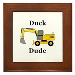 Duck Dude Framed Tile