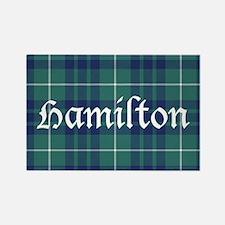 Tartan - Hamilton hunting Rectangle Magnet