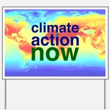 Climate Action Yard Sign