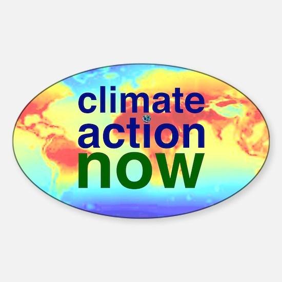 Funny Activist Sticker (Oval)