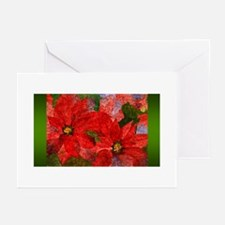 PoinsettiaLon Greeting Cards