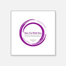 YIWY Forward Design Sticker