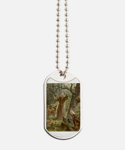 Cool St. francis of assisi Dog Tags